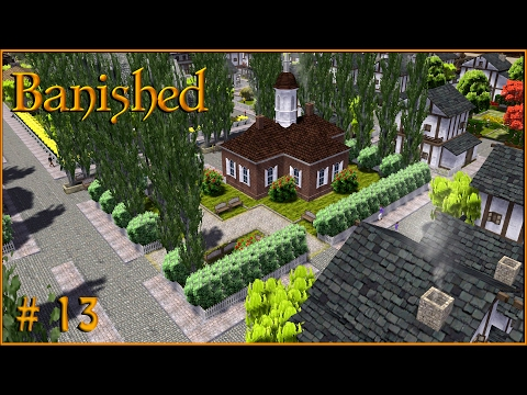 Banished Gameplay - The Courthouse! I am the LAW! S1 EP 13