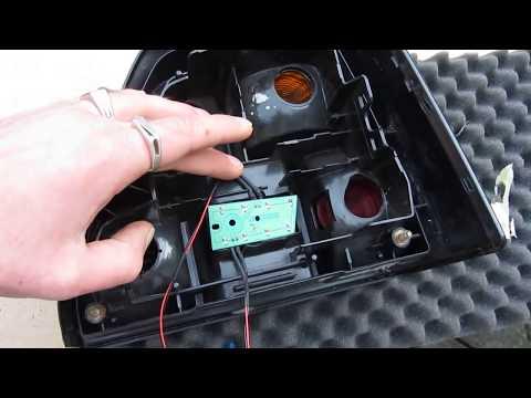 How to Make Car Tail LED Light Vw Golf 2