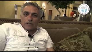 الممثل على عريان من الاردن فى مهرجان الاسكندرية السينمائى الدورة 31