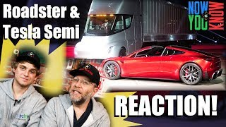 In Depth - Roadster and Tesla Semi REACTION!