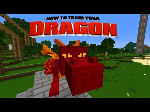 Minecraft - HOW TO TRAIN YOUR DRAGON - Another New Drag ...