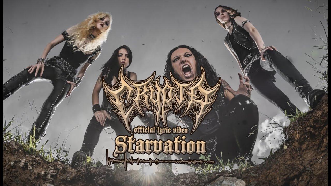 "Brazilian/Dutch Death Metal Unit CRYPTA Releases Second Single + Lyric Video ""Starvation"""