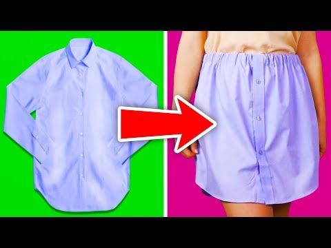 27 LIFE-SAVING CLOTHING HACKS