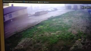 Последствие урагана в Татарстане городе Азнакаево