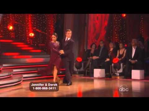 Jennifer Grey and Derek Hough Dancing with the stars WK 7 tango