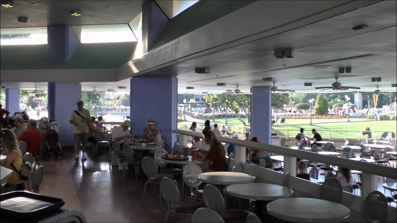 Tomorrowland terrace restaurant in magic kingdom hd 1080p for The terrace menu