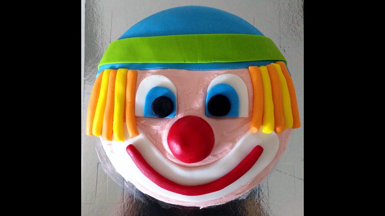 Clown Birthday Cake Photos