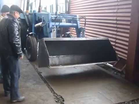 Картофелекопалка для трактора Т 25 - YouTube