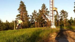 EBA  MTB Enduro 2011 - Alhovuori EK 4 osa 1
