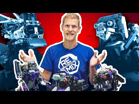 DOODLEBOT: Remix Designer Video - Drawing Robot | LEGO MNDSTORMS & LEGO Technic
