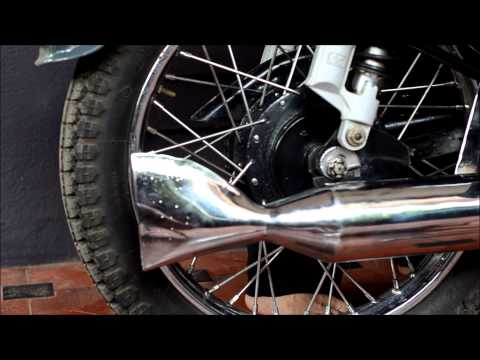 Exhaust Notes Of A Royal Enfield Bullet