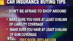 Jim Reed's Car Insurance Tips