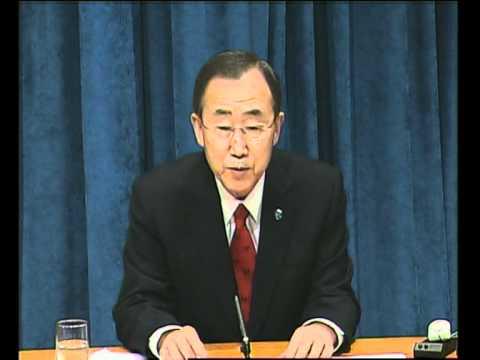 MaximsNewsNetwork: UN's BAN KI-MOON: ISRAEL, PALESTINE, SUDAN, LEBANON, DR CONGO,