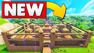 NEW CRAZY CASTLE CUSTOM GAME MODE | Fortnite Custom Game