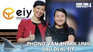 PHỎNG VẤN SHARK LINH SAU DEAL EIY   Shark Tank Việt Nam 4   BTS