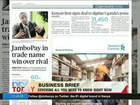 On Business Daily Today 19.06.17