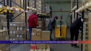Yvelines | Appel aux bénévoles dans les entrepôts des Restos du Coeur