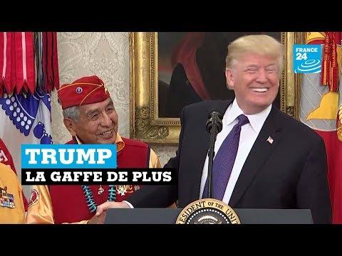 Trump : la gaffe de plus