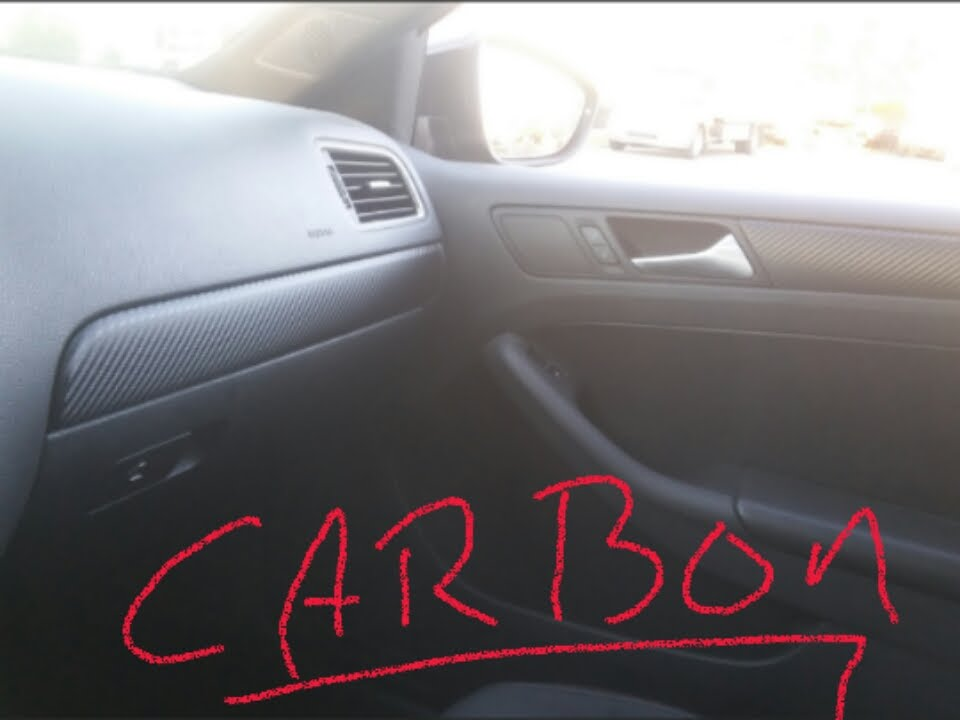Vw mk6 jetta GLI Carbonfiber interior DIY!!! - YouTube