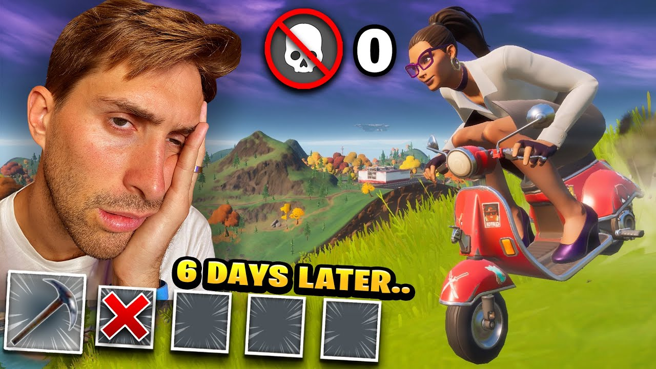 Emoting Entire Game Until I Win! *6 Days*