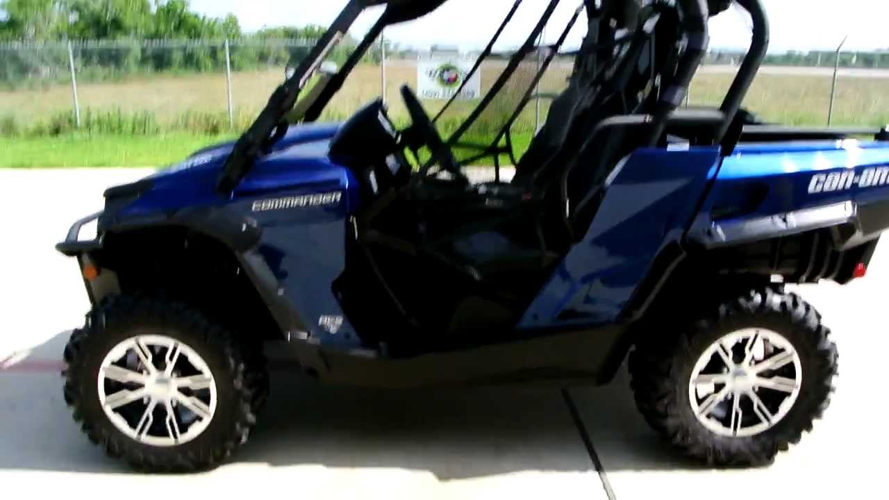 2012 Can Am Commander Limited Overview Review Walk Around - YouTube