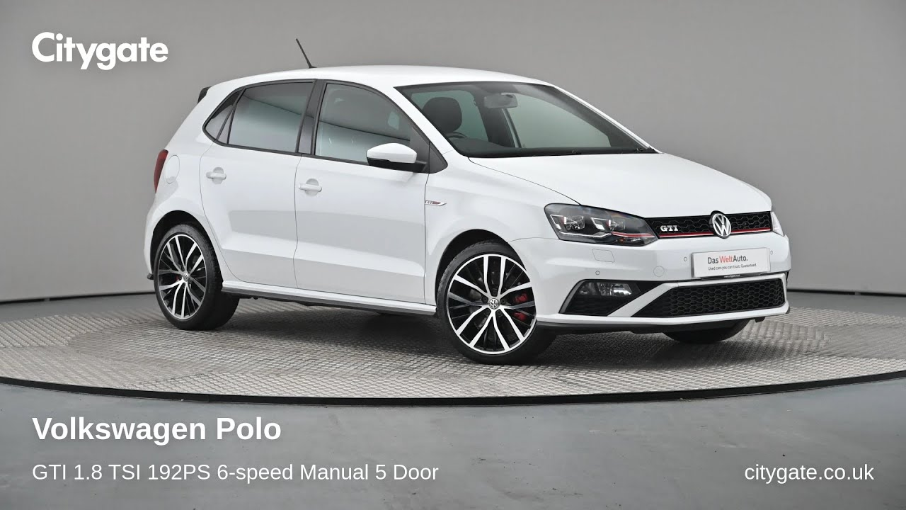 Volkswagen Polo - GTI 1.8 TSI 192PS 6-speed Manual 5 Door - Citygate Volkswagen Ruislip - YouTube