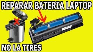 Solucion Recuperar Bateria de Laptop que no Carga
