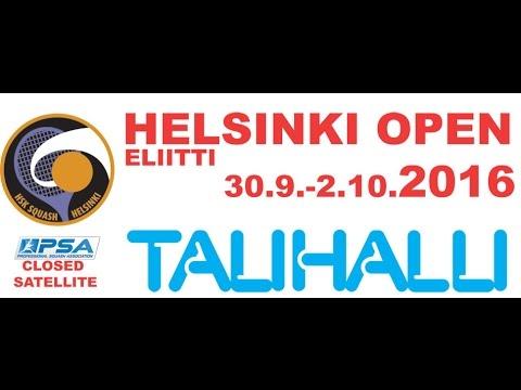 Helsinki Open 2016 day 3