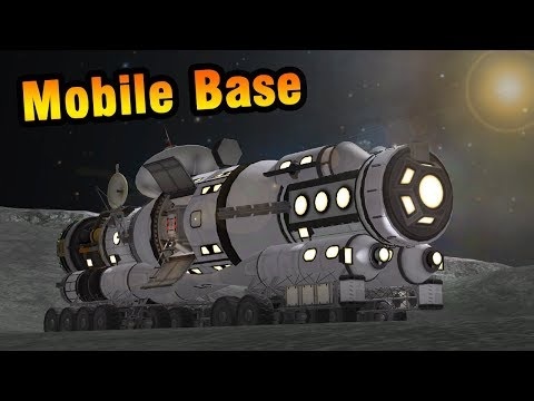 KSP: Sending a Mobile Base to the Mun!