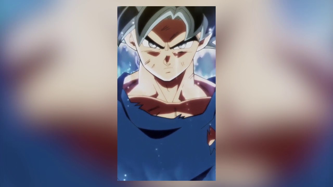 migatte no gokui ultra instinct goku new form animated wallpaper
