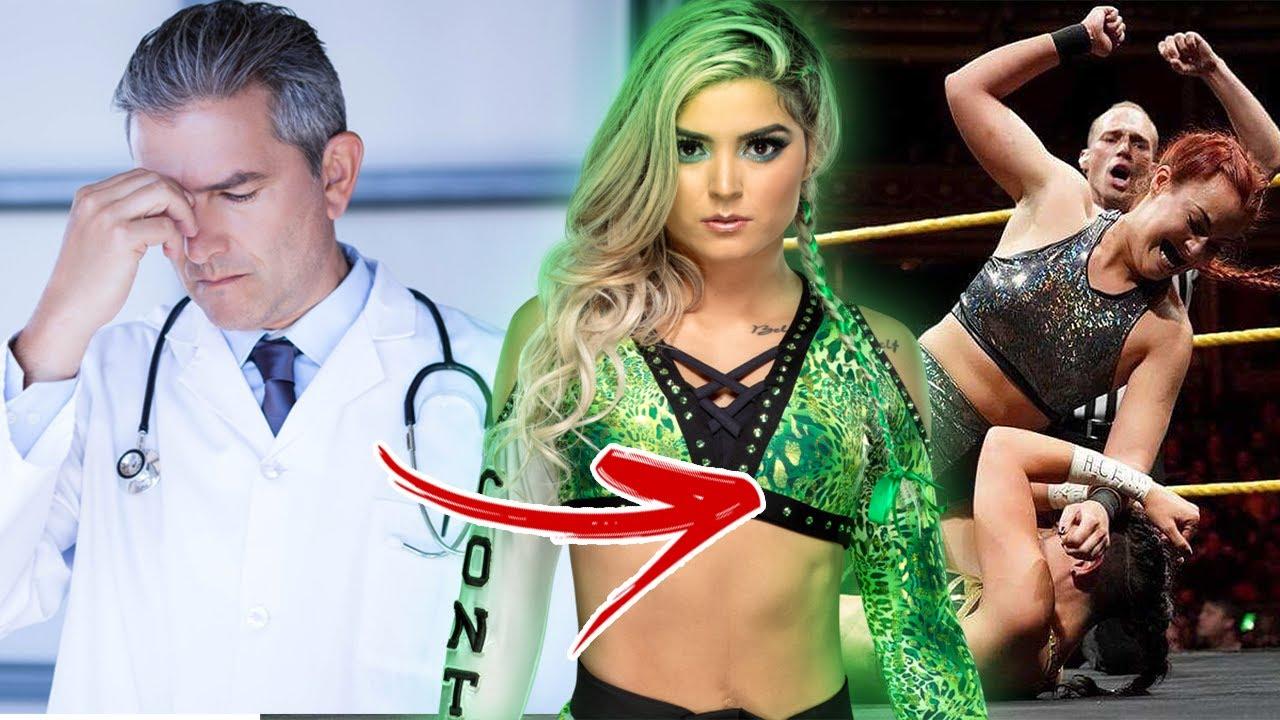 Taynara Conti fala sobre sua saída da WWE