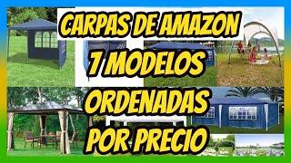 CARPAS AMAZON / TOP 7 MEJORES CARPAS / COMPRAR CARPA 👌 Ordenadas por Precios 💲