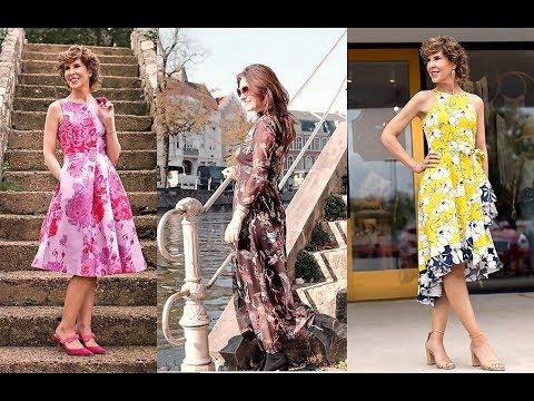 Vestidos Modernos Moda 2019 Vestidos Para Señoras