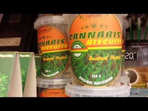 Prague Cannabis: cookies, beer, vodka, chocolate