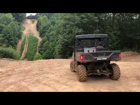 Can-Am Defender Hd10 Dps And Polaris Rangers Riding At Rush Off Road Park In KY. Aug 2019