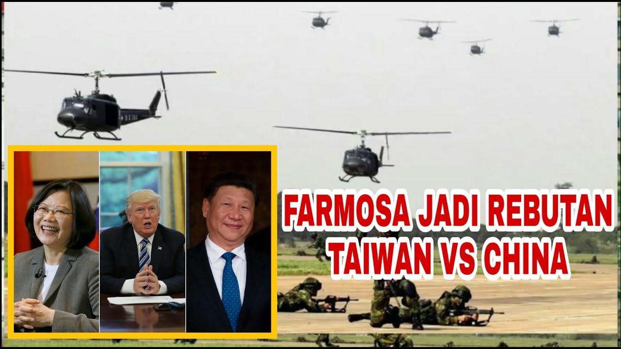 Taiwan Sekuat Tenaga pertahankan Pulau Farmosa Dari Cina