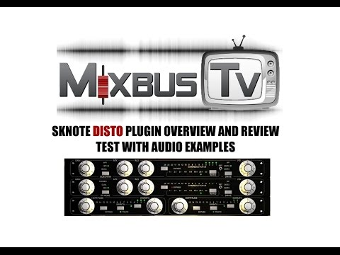 SKnote DISTO Plugin Overview, Audio Examples and Review Distressor Fatso plugin