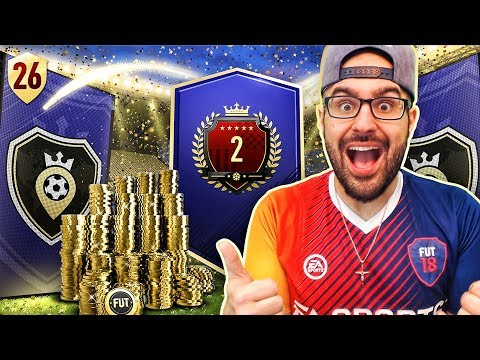 OMG MY 2ND IN THE WORLD REWARDS!! FIFA 18 Road To Fut Champions! Ultimate Team #26 RTG