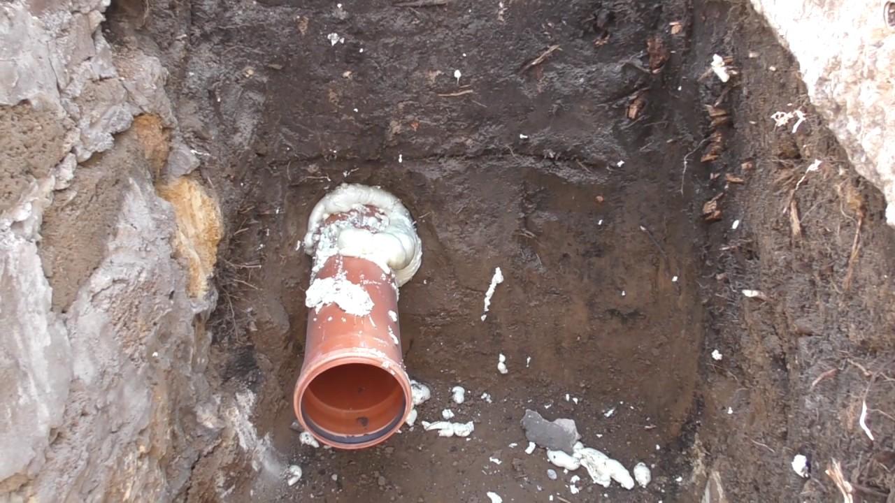 Приспособление для прокола дырки в земле под дорогой