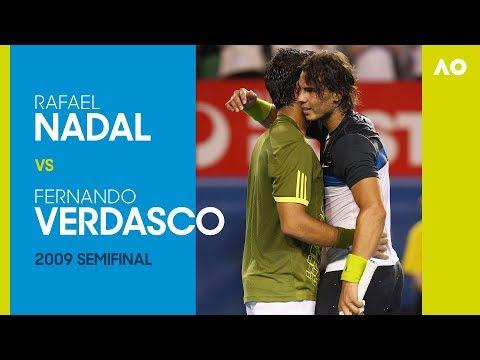 AO Classics: Rafael Nadal v Fernando Verdasco (2009 SF)