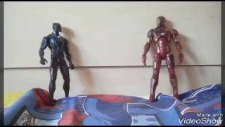 Iron Man Vs Black panther ||Toys and Games