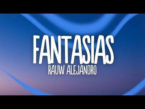 Rauw Alejandro - Fantasias Remix (Lyrics / Letra) feat. Farruko, Anuel AA, Lunay & Natti Natasha