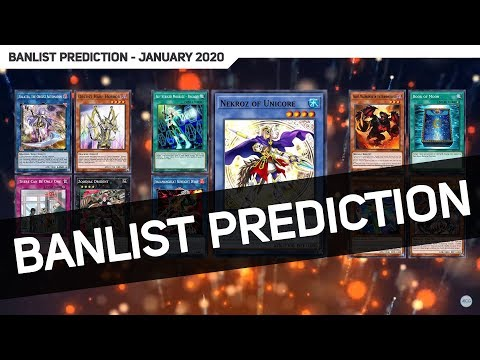 Yugioh Ban List 2020.Yu Gi Oh Tcg January 2020 Banlist Prediction Discussion