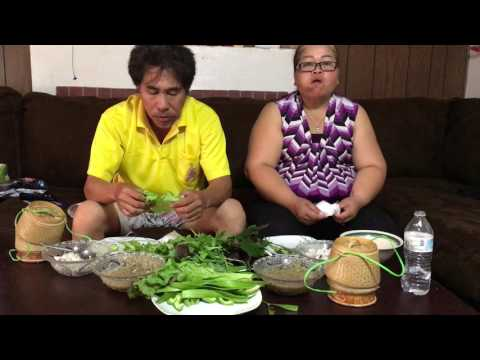 How To Make Jum Pa And Join Us To Dinner (LAO  FOOD) Home Made By Kaysone