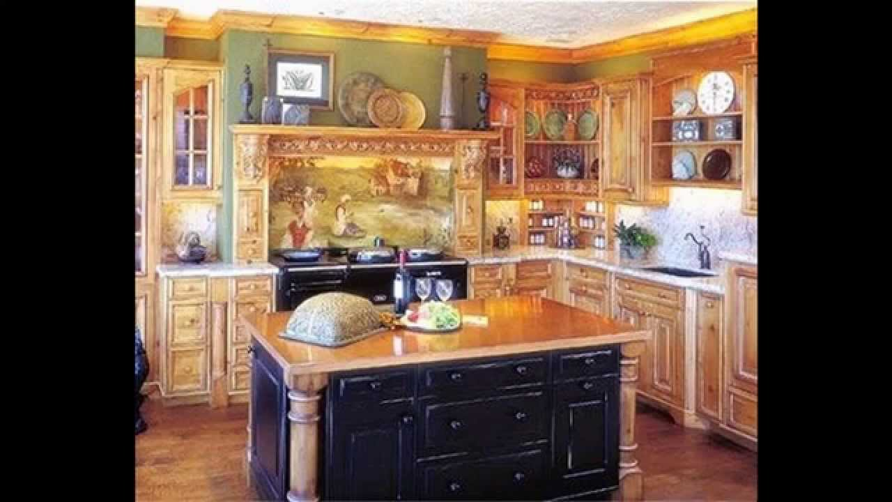 Fat chef kitchen decor ideas youtube for Kitchen furnishing ideas