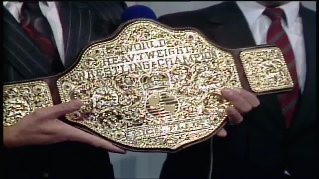 NWA Ric Flair 02/22/1986 (BIG GOLD Debut)