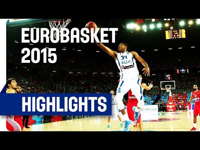 Ευρωμπάσκετ 2015 | Ελλάδα-Κροατία 72-70 🏀 Video με στιγμιότυπα του αγώνα Οι δηλώσεις μετά τη νίκη επί της Κροατίας