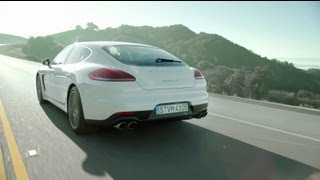 the new porsche panamera thrilling contradictions