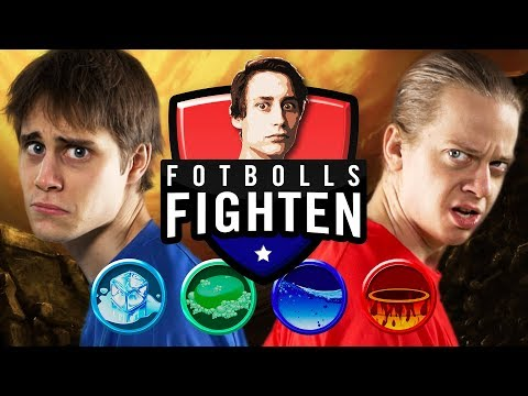 Fotboll På Is! | Fotbollsfighten med IJWTBC