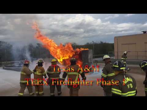 Texas A&M TEEX firefighter phase 1 training ASP111